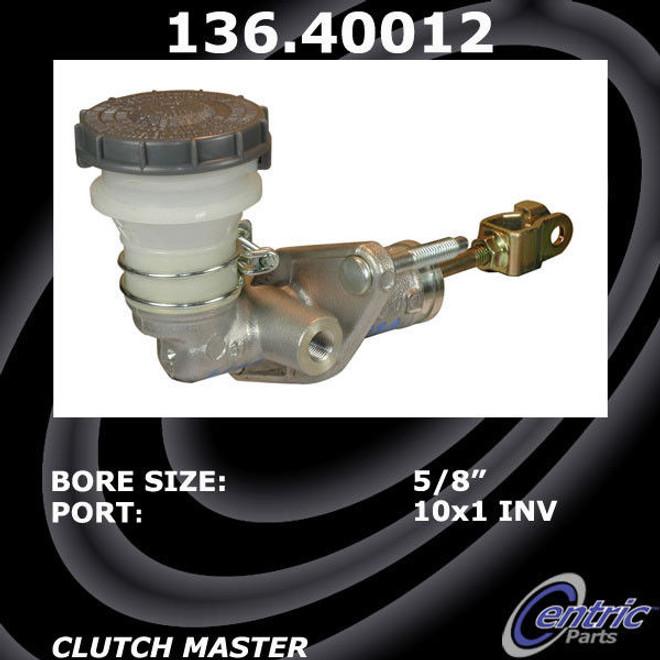 Centric Premium Clutch Master Cylinder - 00-09 Honda S2000