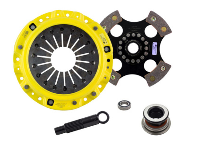 ACT HD/Race Rigid 4 Pad Clutch Kit - 00-03 Honda S2000