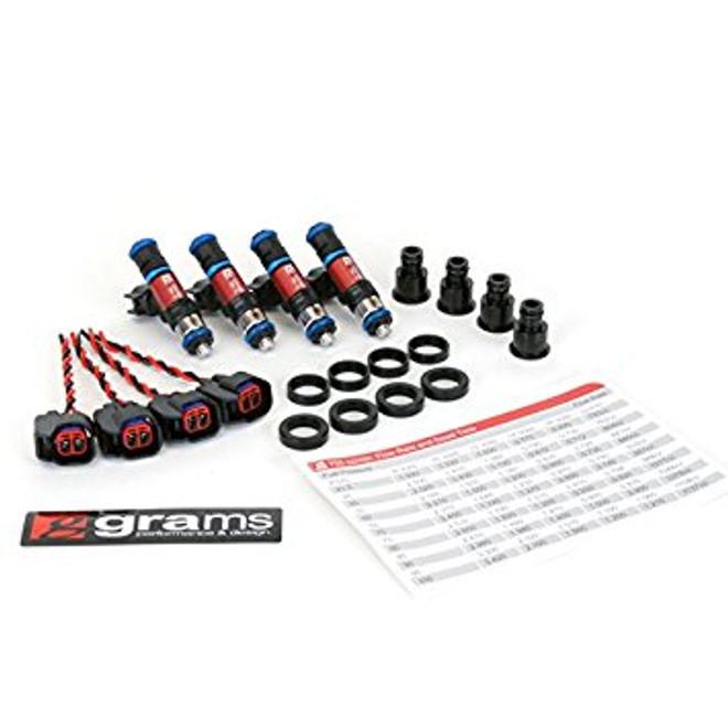 Grams Performance 750cc Fuel Injectors (Set of 4) - 00-09 Honda S2000
