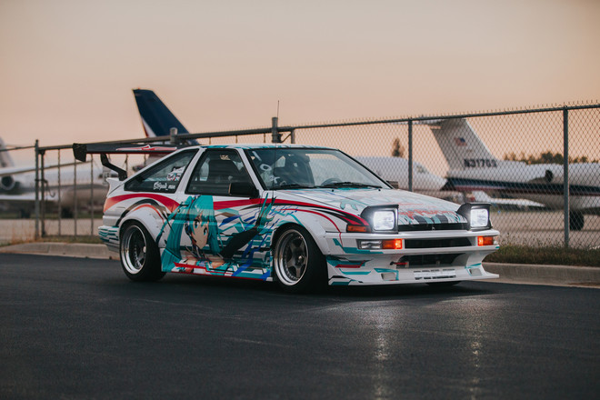 ***SOLD***   AE86 Trueno + K24 Swapped