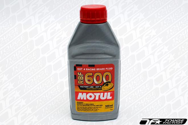 Motul RBF-600 Synthetic DOT 4 Racing Brake Fluid