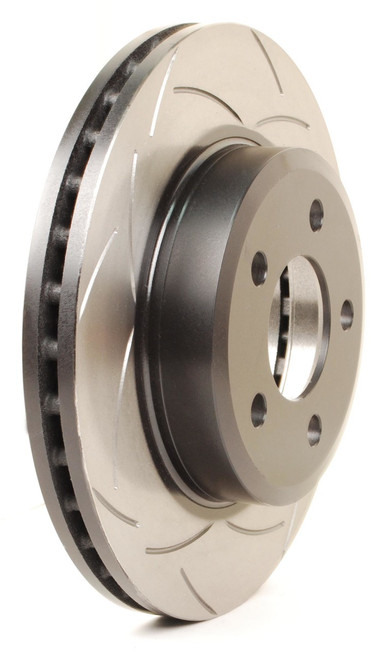DBA T2 T-Slot Uni-Directional Slotted Rotor - 2015+ S550 Mustang - Non-Brembo Front