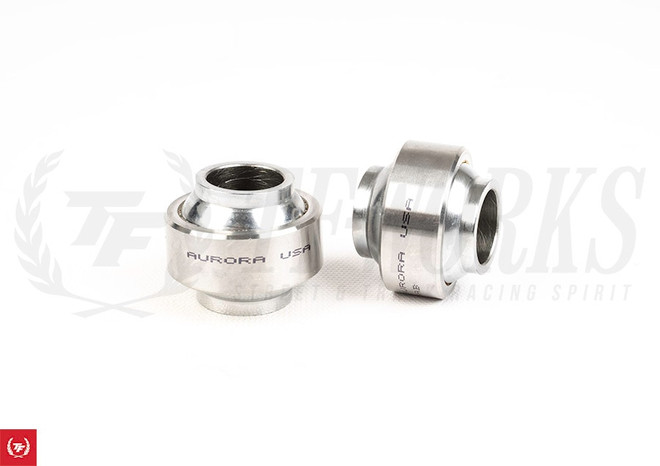 Aurora Spherical High Misalignmen Bearing -  GKtech S-Chassis Rear Lower Control Arm Bearing Upgrade