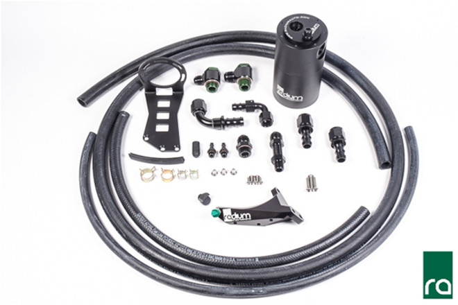Radium Engineering Air Oil Separator (AOS-R) Kit, 2015+ WRX, 14+ Forester XT