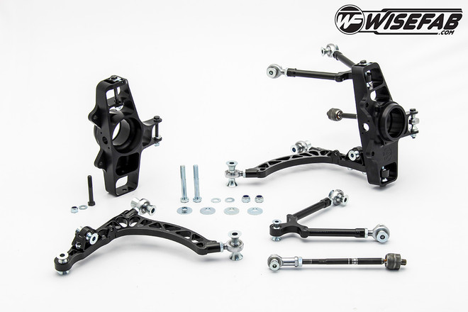 WiseFab - Front Track Suspension Kit - Honda S2000