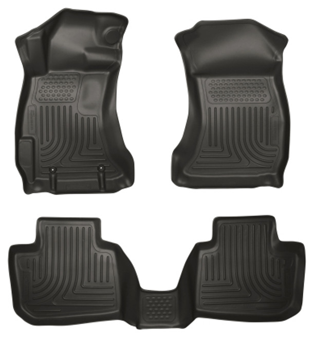 2015-2019 Subaru WRX/STI Husky Liners Floor Liner  Front and Rear