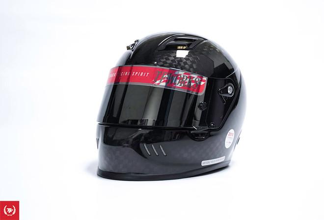 TF-Works Helmet Visor Shield Vinyl Sticker