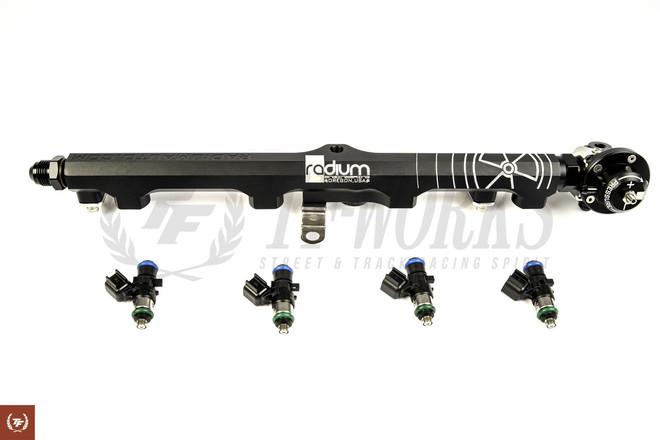 TF Radium Fuel Rail + FPR + FIC 1000cc Injector Combo Set - S13 SR20DET