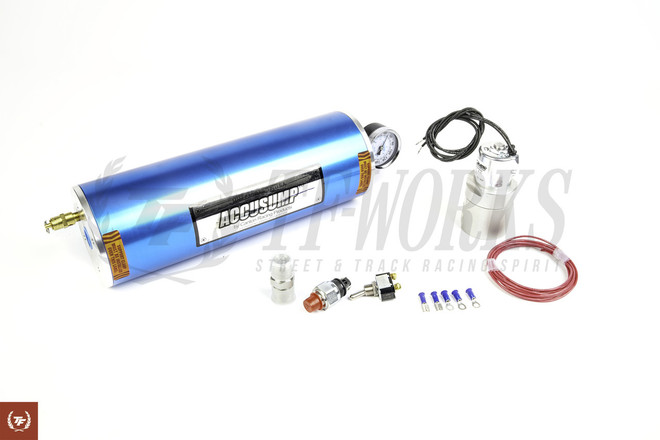 Accusump Automatic 2QT Tank + Valve Kit
