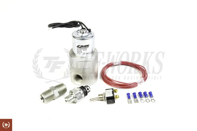 Canton Racing Accusump Electric Pressure Control Valve Kits 20-25psi