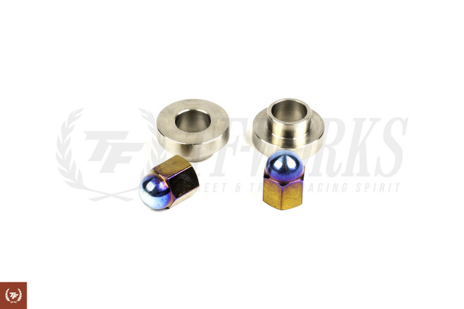 TF SR20DET Burnt Titanium Valve Cover Nuts & Washers Set - OEM Style S13