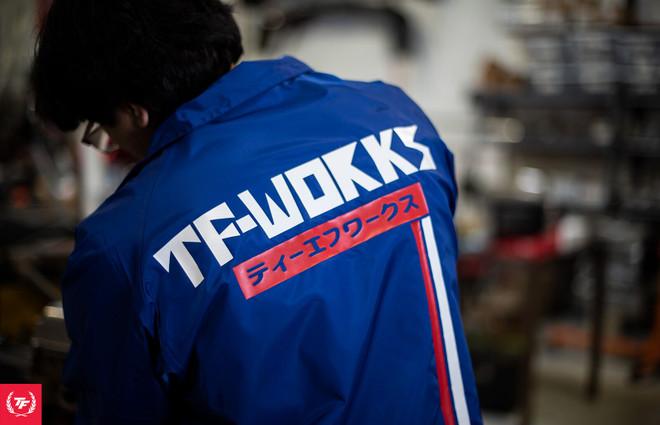 TF-Works Windbreaker - Royal Blue Nismo