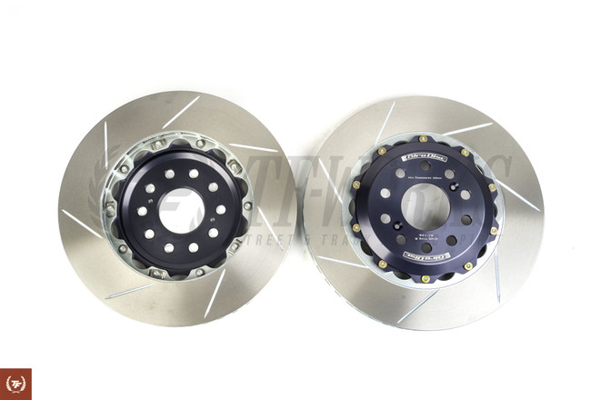 Girodisc FK8 Type R Front Slotted 2Pc Rotor Set