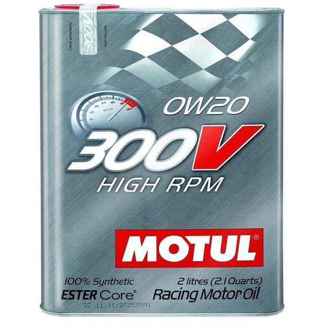 Motul 300V 0W-20 Honda Civic Type R Oil Change Package