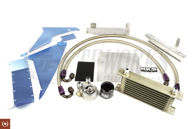 HKS Oil Cooler Kit FK8 Typer R