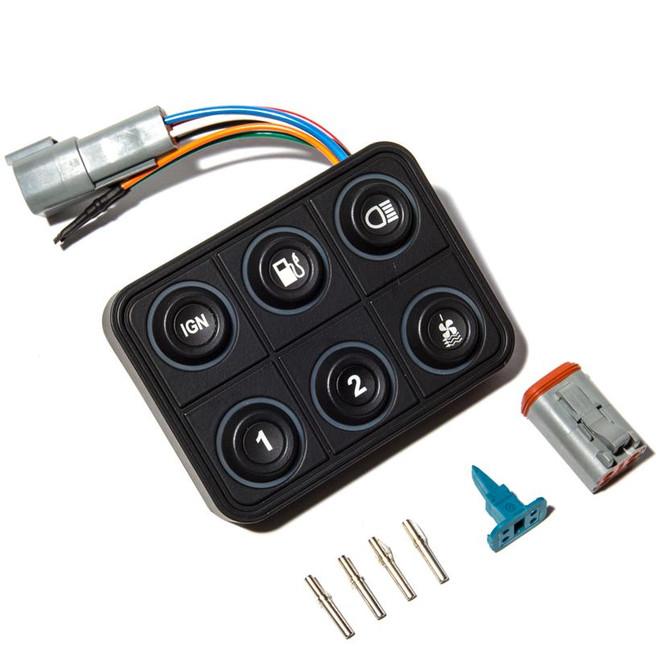 ECUMaster CAN Keyboard - 6 Position