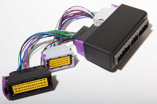 ECUMaster 89-92 Supra 7MGTE PNP Adapter for EMU Black