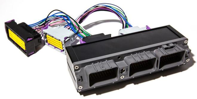 ECUMaster JZA80 2JZ Non VVTI PNP Adapter for EMU Black