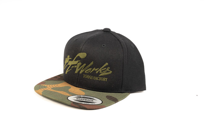 TF-Works Camo Snap Back Hat