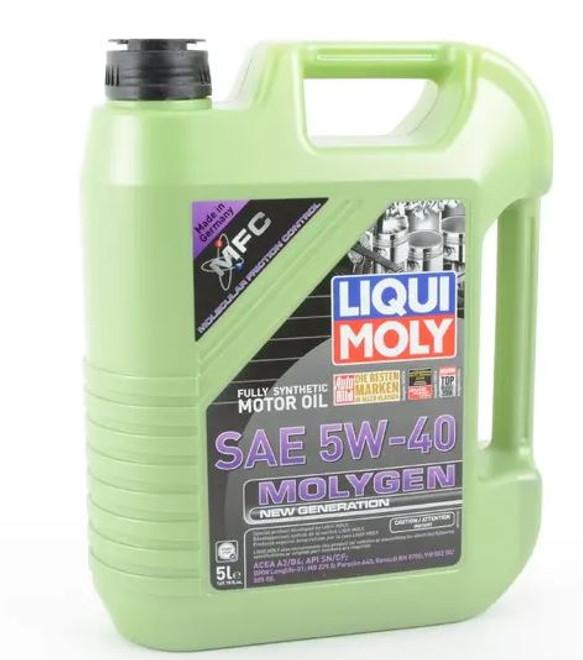 Liqui-Moly Molygen New Generation Engine Oil 5W40 5 Liter