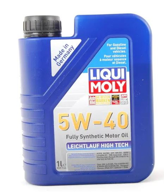 Liqui-Moly Leichtlauf High Tech Engine Oil 5W40 - 1 Liter