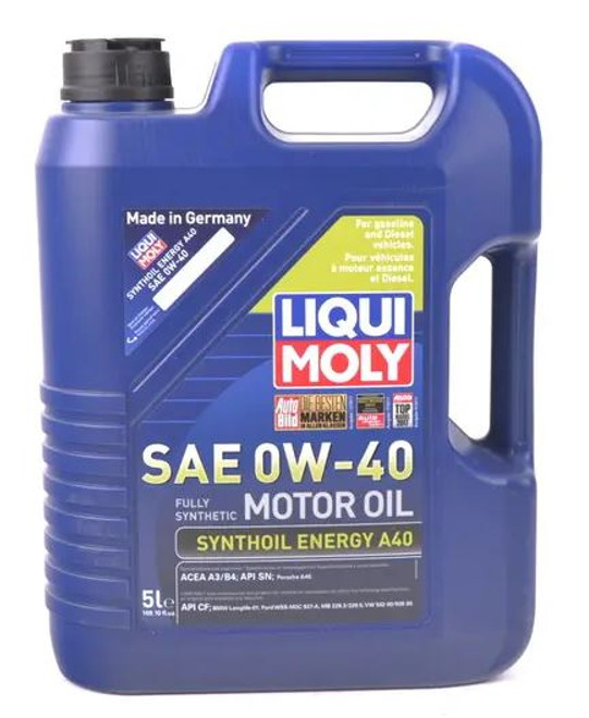 Liqui-Moly Synthoil Energy Engine Oil A40 OW40 - 1 Liter