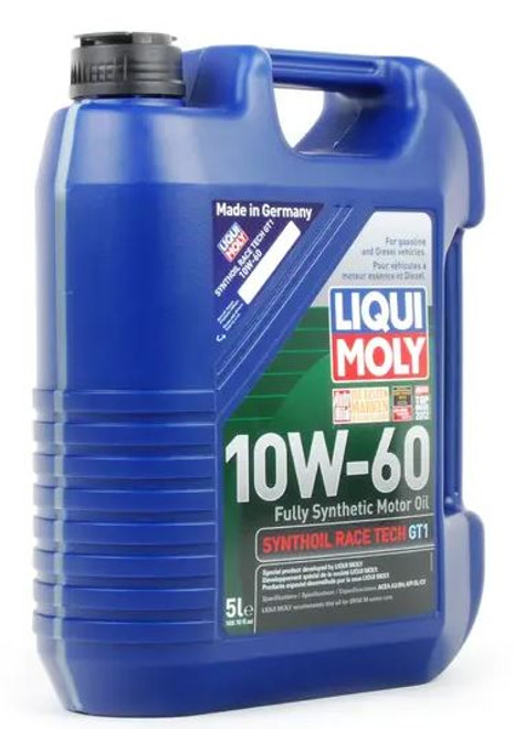Liqui Moly Race Tech GT1 10w-60 Engine Oil - 5 Liters