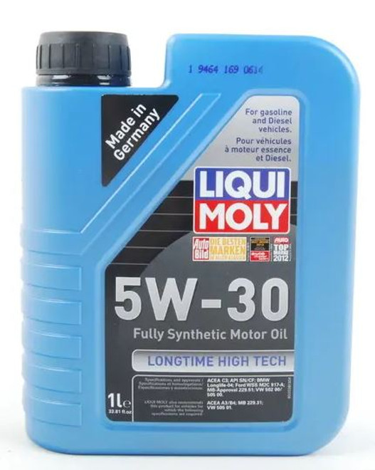 Liqui-Moly Longtime High Tech Engine Oil 5W30 -1 Liter