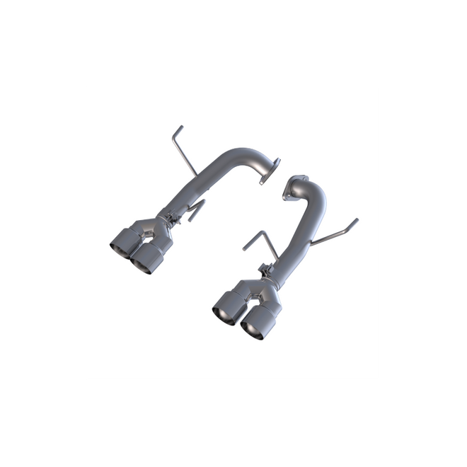 "MBRP Stainless Steel 2.5"" Axle-Back Muffler Delete Performance Exhaust 2015-2019 Subaru WRX/STI"