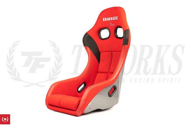 Bride Zeta IV Seat - Red / FRP - HANS Compatible