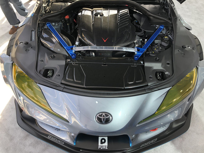 Eventuri Carbon Fiber Air Intake - 2020+ A90 Toyota Supra