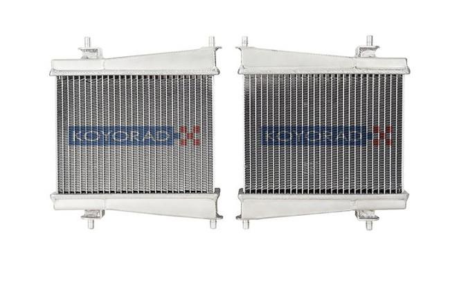 Koyo Aluminum Remote Radiators - 2020+ A90 Toyota Supra