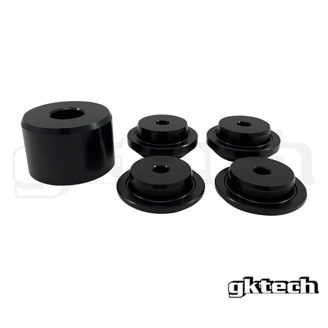 GKTECH - 350Z/G35 Billet Aluminum Solid Diff Bushings