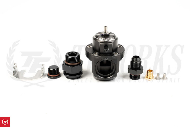 Radium Engineering DMR Fuel Pressure Regulator 6AN ORB - Black