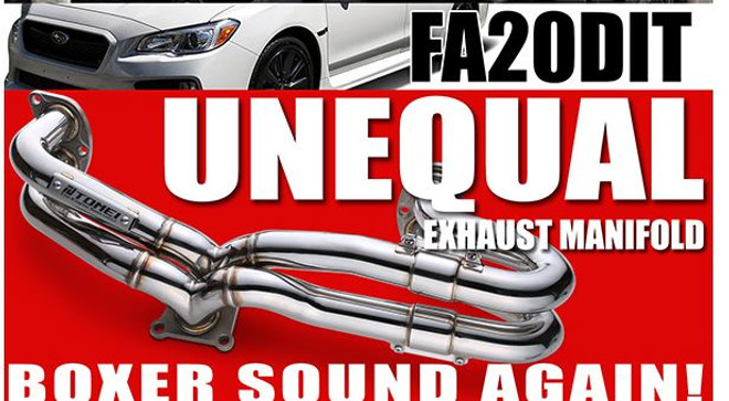 Tomei Expreme Un-Equal Length Header - 2015+ Subaru Wrx FA20DIT