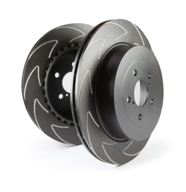 EBC BSD High Carbon Blade Slotted Rotor - Nissan 350Z w/Brembo Front (Pair)