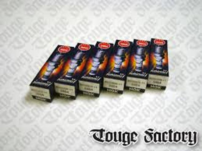 NGK LFR6AIX-11 - 350Z / G35 VQ35DE Spark Plugs (6 Pack)