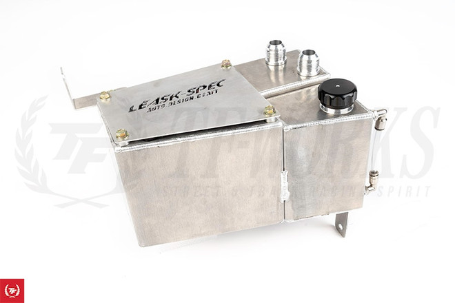 Leask-Spec Nissan Skyline R33/R34 GTR Catch Can & Coolant Over Flow Combo Tank
