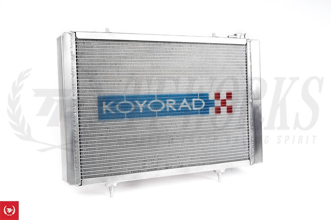 Koyo Aluminum Racing Radiator N-Flo Dual Pass for S13/S14/S15 K-Swap