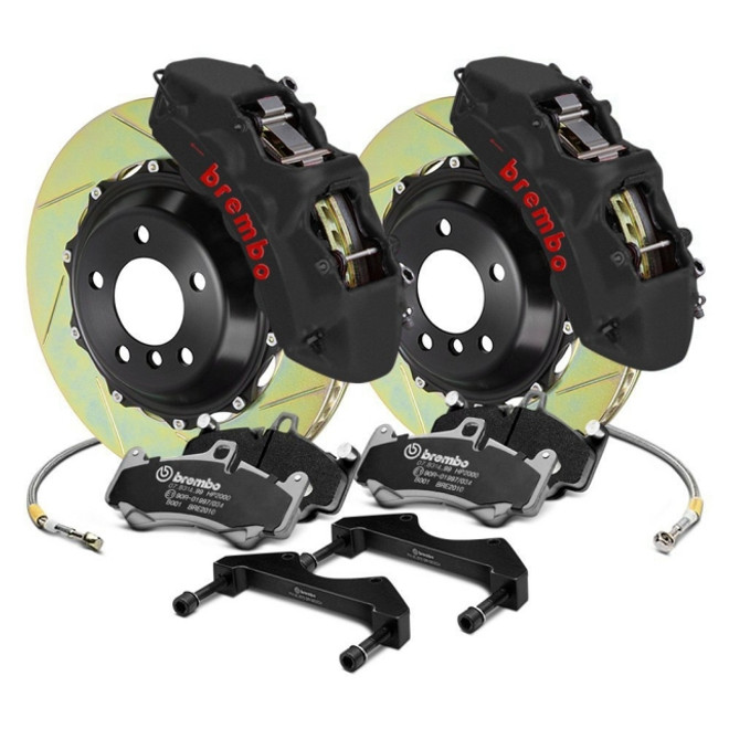 Brembo GT-S Front Big Brake Kit (6P 355x32 2-Pc. Slotted) - BMW M3 (E36) 1995-1999