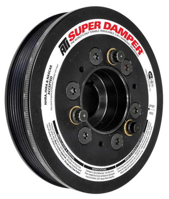 ATI - Super Damper Crank Pulley - 1JZ / 2JZ Engines