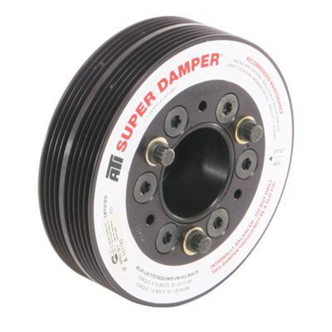ATI - Super Damper Crank Pulley For Subaru EJ20 & EJ25 Engines