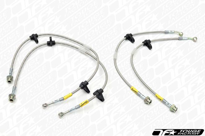 Goodridge G-Stop Stainless Steel Brake Lines - CZ4A EVO X