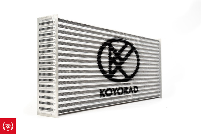"Koyo Tube & Fin Intercooler HyperCore - 24x10x2.5"""
