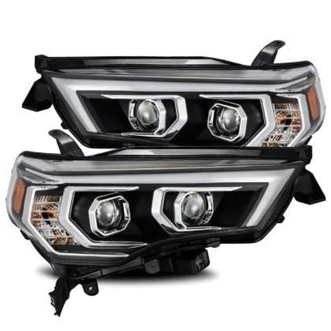 AlphaRex LUXX Headlights - Plank Style Black - Toyota 4Runner 2014/20