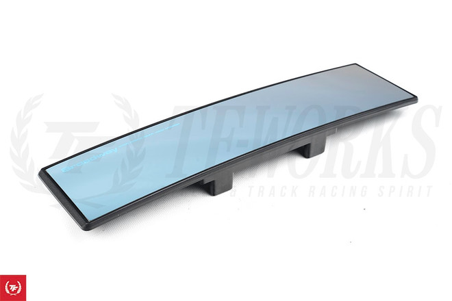Broadway Wide 270mm Convex Curved Mirror with Blue Tint