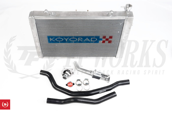 S-Chassis RWD Kswap Radiator Cooling Package