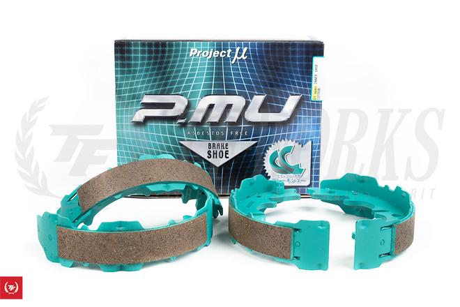 Project MU - D1 Spec  Inner E-brake Shoes - Toyota JZX81 / JZX90 / JZX100