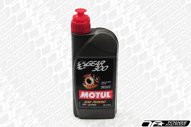 Motul Gear 300 75W90 Synthetic Transmission Fluid - 1 Liter