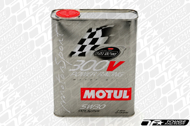 Motul 300V Power 5W40 Synthetic Racing Engine Oil - 2 Liter